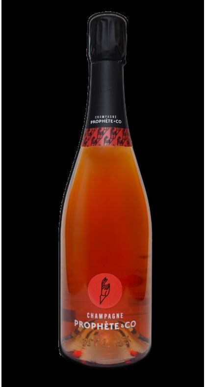 Champagne Prophète and CO Cuvée Rosé